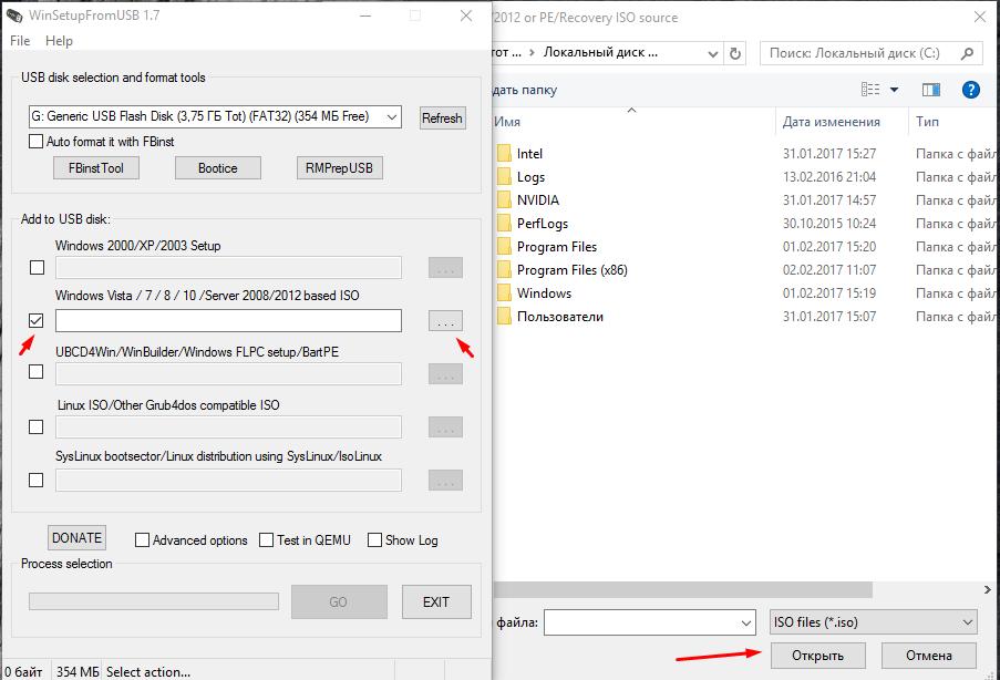 Как сделать загрузочную флешку с windows 10 через ultraiso